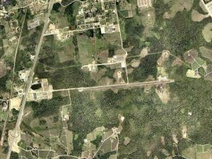 Vista aérea do aeroporto de Registro/SP