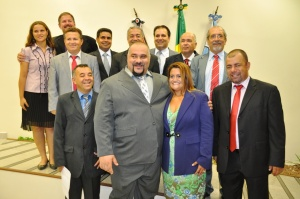 Prefeita Ana Preto e vereadores de Peruíbe