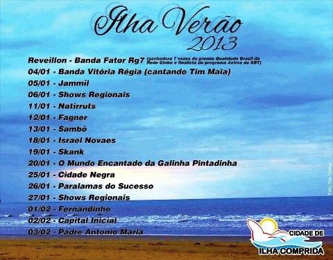 Verao 2013 - Ilha Comprida