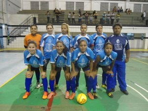 Equipe feminina de futsal de Peruíbe