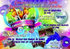 Carnaval 2013 em Pedro de Toledo, Vale do Ribeira, SP