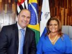 Ana Preto e Nelson do Posto (Foto: Marcos Costa / Divulgação PMP