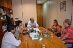 Deputado federal Ricardo Berzoini, Ana Preto, vereadores Ricardo Corrêa, Loro e Dra. Laila