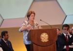 Discurso da presidente Dilma(Divulgação:Prefeitura de Peruíbe)
