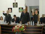 Cerimônia de posse em Juquiá, vale do ribeira/SP