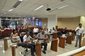 Primeira sessão (extraordinária) da Câmara de Peruíbe em 2013