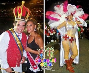 Rainha do Carnaval em Cananéia SP