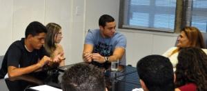 Reunião entre a prefeita Ana Preto e AEP