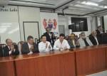 Assinatura da filiação de Marcelo Teixeira ao PTB (Foto ER / Lelo)