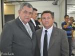 Deputado Federal Arnaldo Faria de Sá e vereador de Peruíbe Cabra Bom (Foto ER/ Lelo)