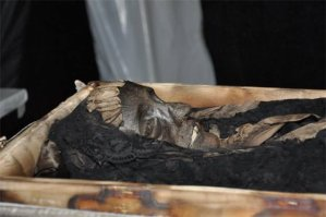 Dona Amélia mumificada