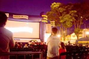 Energia em cena - Cinema ao ar livre