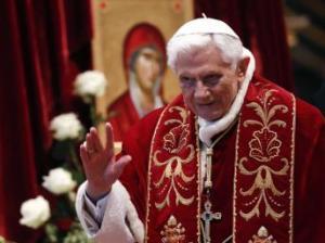 O Papa Bento 11 em fevereiro de 2013.. Foto: Reuters / Bianchi