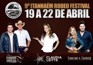 O 9º Itanhaém Rodeo Festival acontece de 19 a 22 de abril, em comemoração aos 481 anos da Cidade.