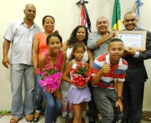Vereador Nilsão, Gomes e família