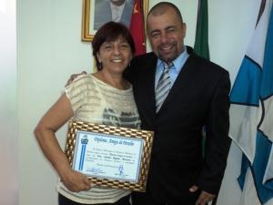 Vereador Rafael e Dra. Sandra