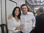 Vereadora de Pedro de Toledo, Débora Cristiane de Almeida e Deputado Campos Machado (Foto ER/ Lelo)
