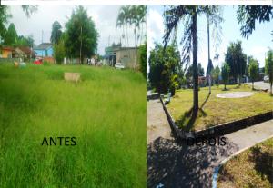 Praça Ribamar Antes e Depois