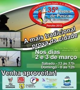 Torneio de Pesca de Arremesso Aramaçan em Peruíbe