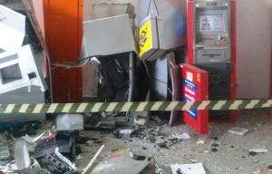 Caixas Eletrônicos da rodoviária de Peruíbe foram explodidos